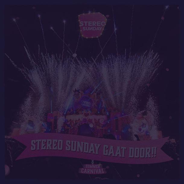 Stereo Sunday 2021 GAAT DOOR